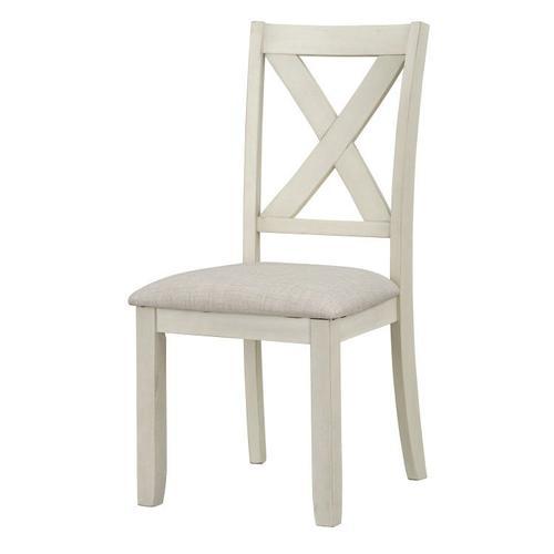 Standard Furniture - Sandpiper Upholstered Dining Chair, White