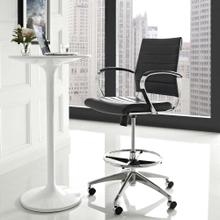 Jive Drafting Chair in Black