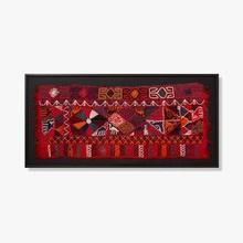 See Details - 0306540028 Vintage Textile Wall Art