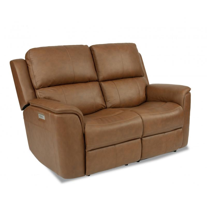 Henry Power Reclining Loveseat with Power Headrest and Power Lumbar