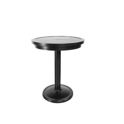 "Monaco 30"" Round Pedestal Balcony Table"