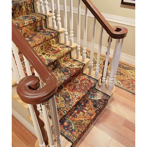 "Spice Market Levant Multi Roll Runner 2' 4""xCustom Finished End"