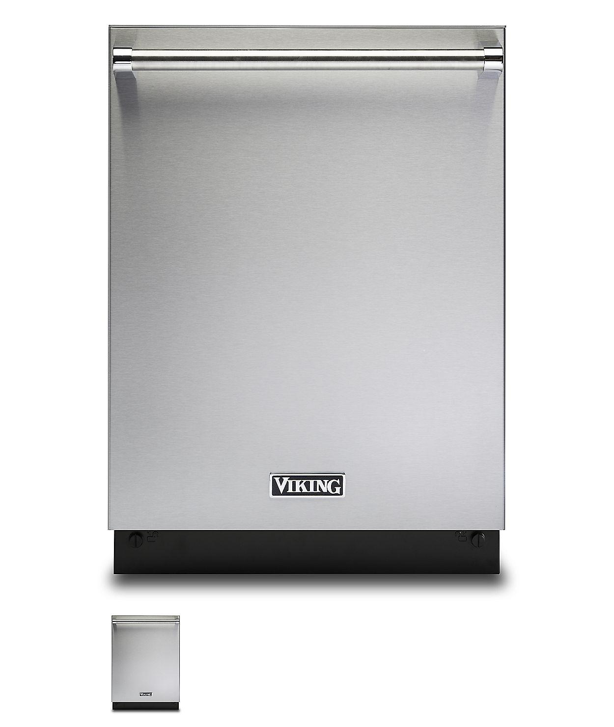 """24"""" Dishwasher w/Installed Professional Stainless Steel Panel -  Photo #1"""