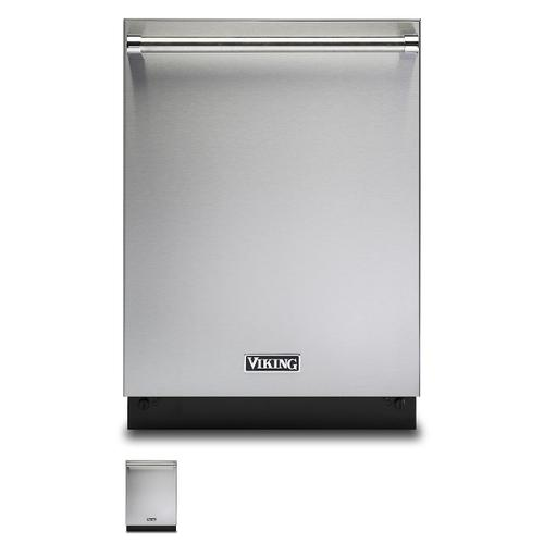 "24"" Dishwasher w/Installed Professional Stainless Steel Panel - VDWU524SS Includes Stainless Steel Door Panel"