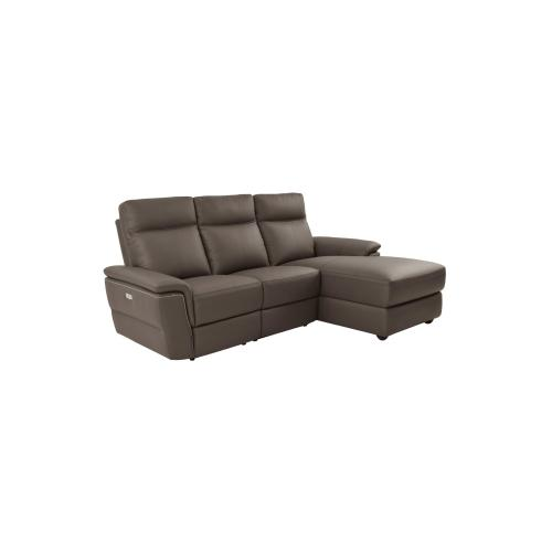 4-Piece Modular Power Reclining Sectional with Left Chaise