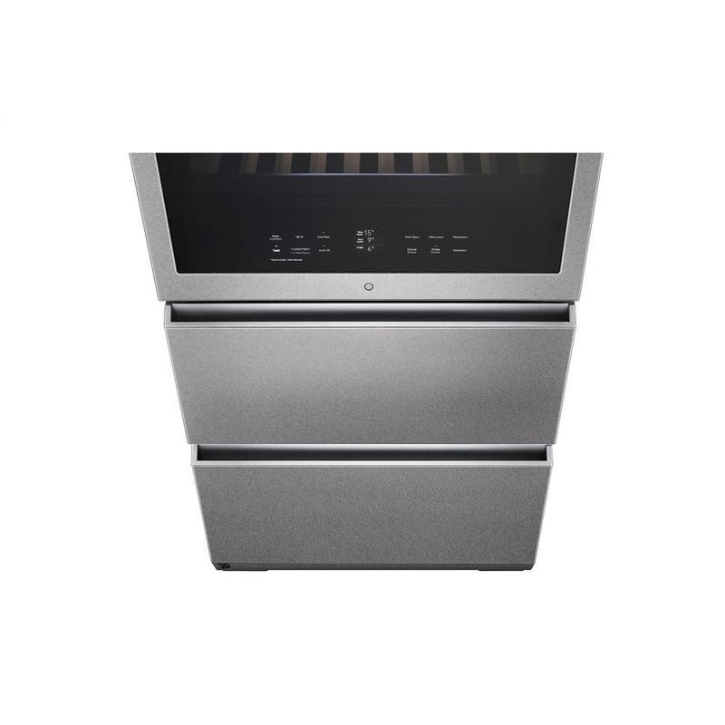 LG SIGNATURE 15 cu. ft. Smart wi-fi Enabled InstaView™ Wine Cellar Refrigerator