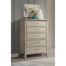 See Details - Talford Natural - Five Drawer Chest - Natural Finish