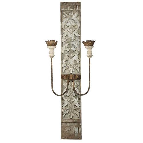 A & B Home - Two-Light Wall Sconce,Electric