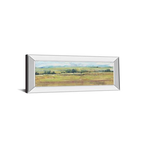 "Classy Art - ""Distant Treeline Panel II"" By Tim Otoole Mirror Framed Print Wall Art"