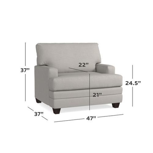 Bassett Furniture - Carolina Track Arm Chair and a Half