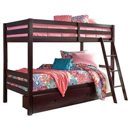 See Details - Halanton Twin Over Twin Bunk Bed With 1 Large Storage Drawer