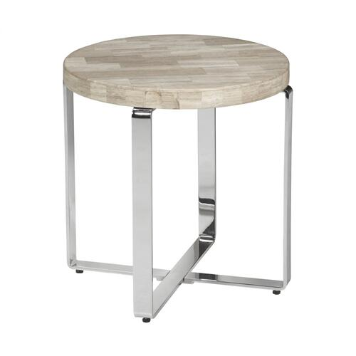 Aiden Round Lamp Table