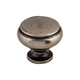 Cumberland Knob 1 1/4 Inch Pewter Antique