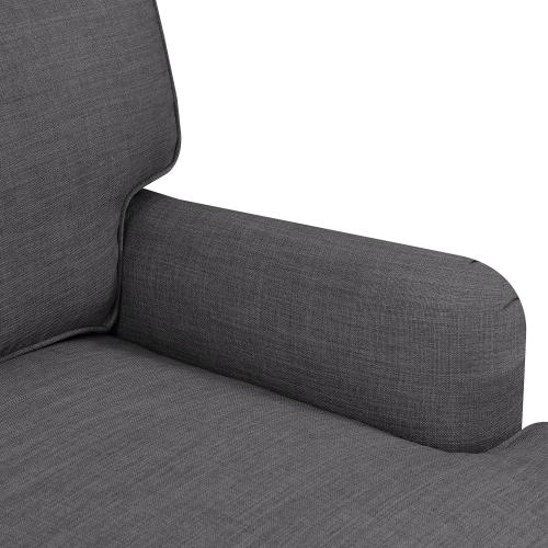 Product Image - Abby Sofa W/Pillows in Heirloom Charcoal