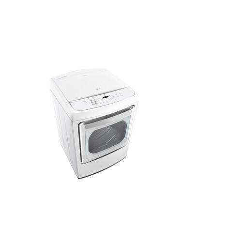 7.3 cu. ft. Large Smart wi-fi Enabled Front Control Gas Dryer with EasyLoad™ Door