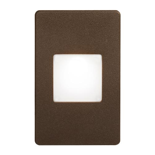 Bronze Rectangle In/outdoor 3w LED Wa