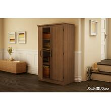 2-Door Storage Cabinet - Morgan Cherry