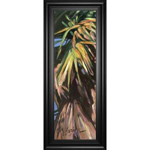 """Wild Palm I"" By Suzanne Wilkins Framed Print Wall Art"