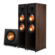 See Details - RP-8000F + SPL-120 Subwoofer 2.1 Home Theater System - Walnut