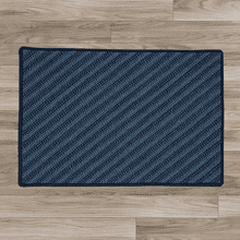 Blue Hill Rug BI51 Navy 5' X 7'