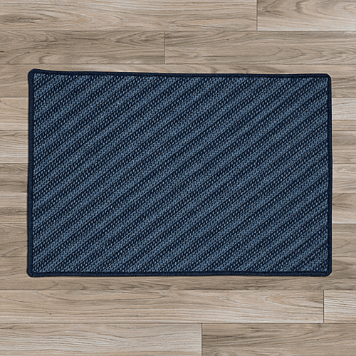 Blue Hill Rug BI51 Navy 6' X 9'