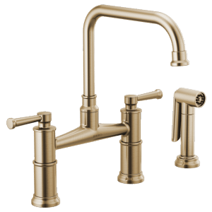 Bridge Faucet With Side Sprayer Product Image