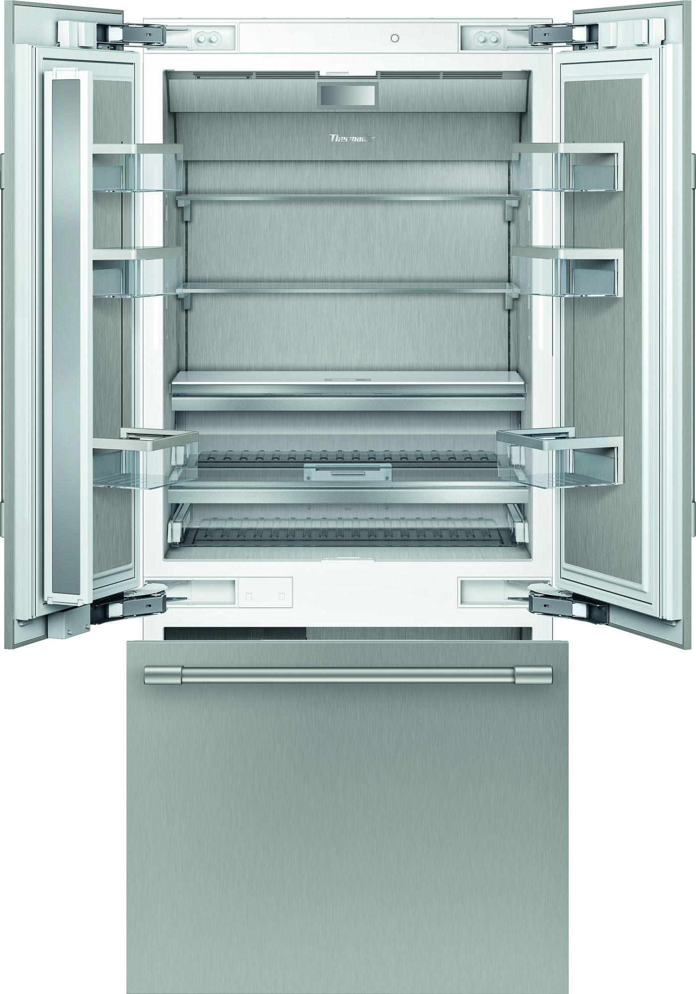 ThermadorBuilt-In French Door Bottom Freezer 36'' Professional Soft Close Flat Hinge T36bt925ns
