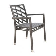 Graphite Stackable Armchair