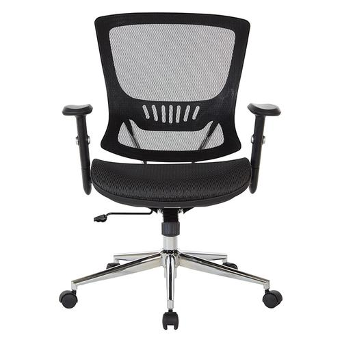 Office Star - Mesh Screen Seat and Back Chair