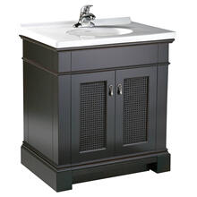 View Product - Portsmouth 30 Inch Vanity - Dark Chocolate
