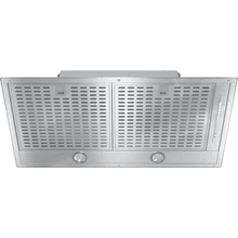 DA 2588 - Insert ventilation hood with energy-efficient LED lighting and backlit controls for easy use.