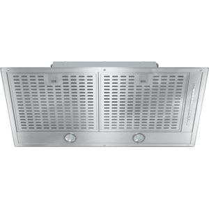 MieleDA 2588 - Insert ventilation hood with energy-efficient LED lighting and backlit controls for easy use.