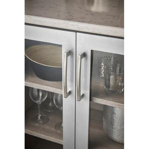 Top Knobs - Sibley Pull 6 5/16 Inch (c-c) Brushed Stainless Steel