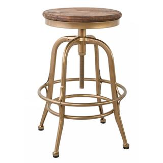 See Details - Peralta 24\u0022 Counter Stool Brass