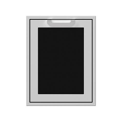 """20"""" Hestan Outdoor Trash/Recycle Drawer - AGTRC Series - Stealth"""