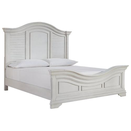 Teganville King Panel Bed