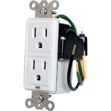 See Details - Max-In-Wall 15 Amp Duplex with Surge Protection