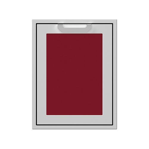 "Hestan - 20"" Hestan Outdoor Trash/Recycle Drawer - AGTRC Series - Tin-roof"