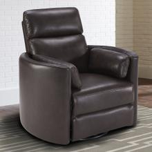 RADIUS - FLORENCE BROWN - Powered By FreeMotion Power Cordless Swivel Glider Recliner