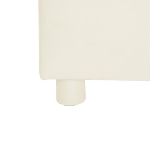 Product Image - Gumdrop Cream Velvet Bed in Full