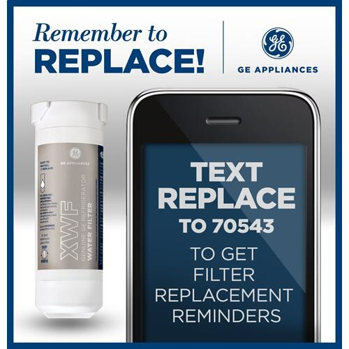 Product Image - GE® XWF Refrigerator Water Filter