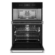"""See Details - NOIR™ 30"""" Microwave/Wall Oven with V2™ Vertical Dual-Fan Convection"""