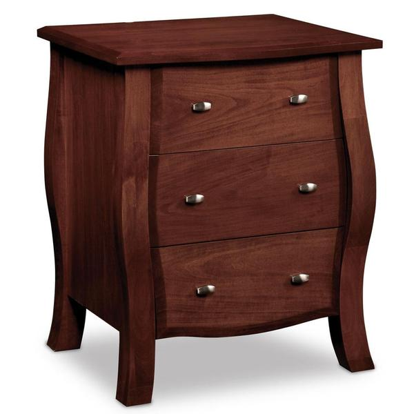 See Details - Sophia Nightstand with Drawers, 23'w x 17'd x 29 'h