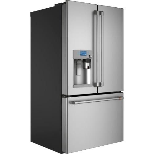Café ENERGY STAR ® 27.8 Cu. Ft. Smart French-Door Refrigerator with Keurig ® K-Cup ® Brewing System