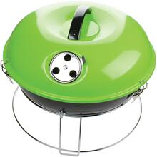 14-Inch Portable Charcoal Grill (Green)
