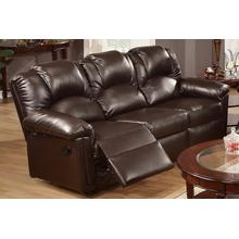 Izem Reclining/Motion Loveseat Sofa or Recliner, Espresso-bonded-leather, Motion-sofa