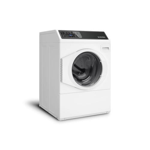 FF7 White Front Load Washer with Sanitize  5-Year Warranty