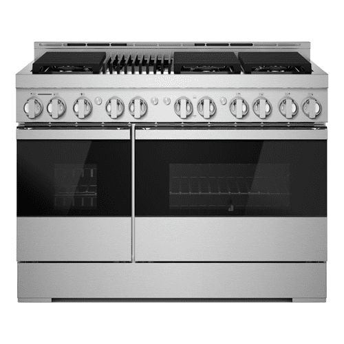 """48"""" NOIR™ Gas Professional-Style Range with Infrared Grill"""