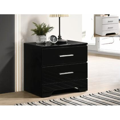 Brooklyn Night Stand Black