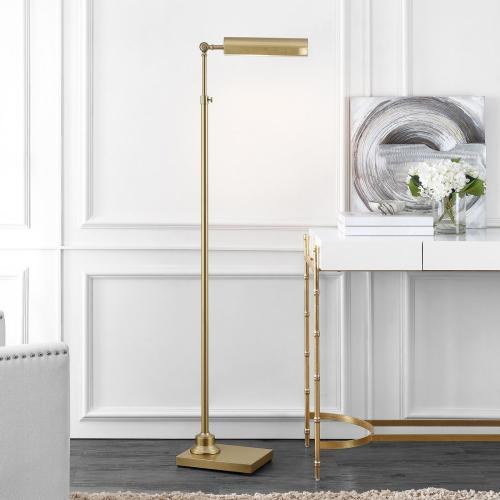 Renla Floor Lamp - Brass Gold